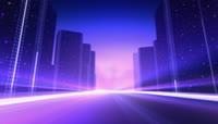 城市高楼动态视频素材
