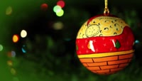 圣诞节树上的彩球\-圣诞节元素