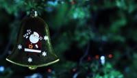 圣诞树上的铃铛\-圣诞节元素