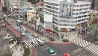 俯瞰日本街头