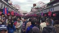 日本旅游之小吃一条街