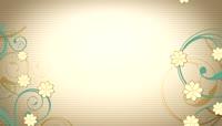 唯美植物花藤生长动态背景视频