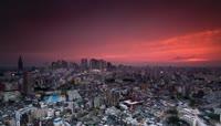 东京新宿的夜景视频素材