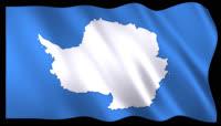 动态前景旗帜飘扬302 南极洲