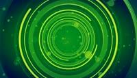 高清LED视频素材\-07绿色圆环