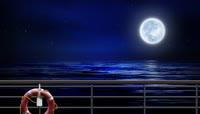 海上升明月高清视频素材