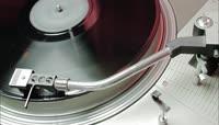 唱片机旋转高清实拍视频素材\+1080P