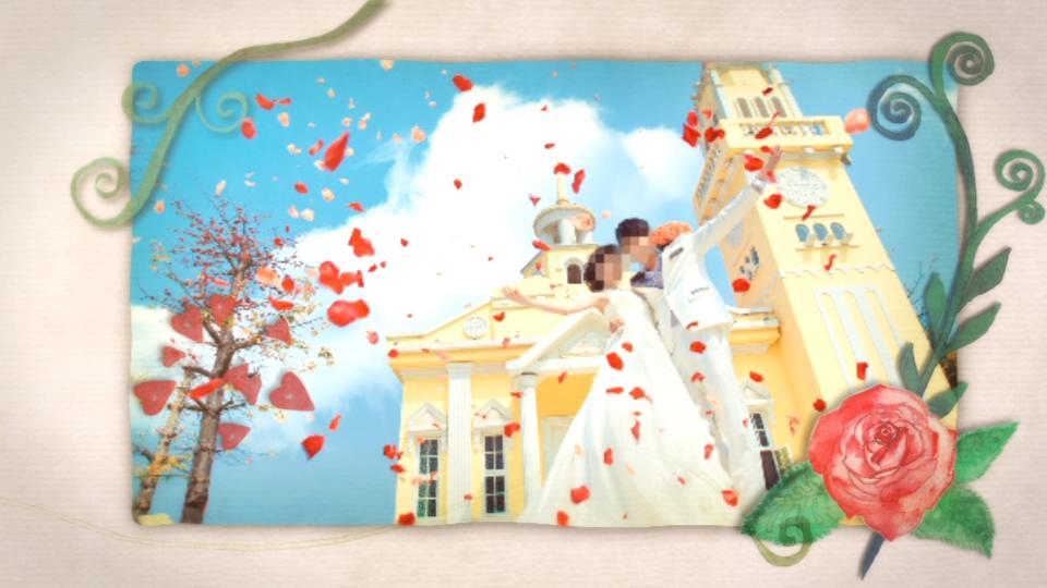 韩式婚礼ae模板