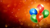 Bunch Of Balloons LED动态视频素材