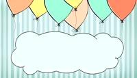 Stuck On A Cloud_A  LED动态视频