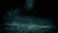 下雨春雨雨滴窗外视频素材