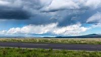 高清实拍草原美景自然风光延时摄影视频素材