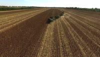 4K航拍农业机械化作业2