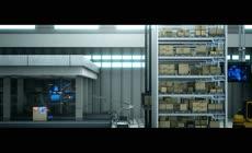 未来物流科技仓储配送展示高清视频