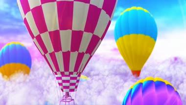 卡通儿童节活动LED背景主视觉视频素材