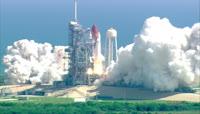 航空火箭发射视频素材