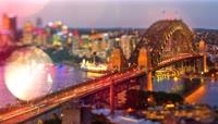 悉尼高清延时摄影