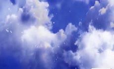 天空白云飘飘特效视频