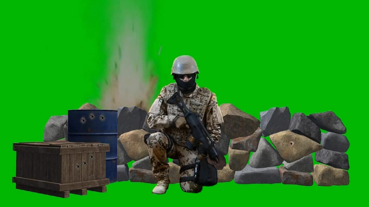士兵射击动作2