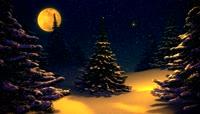 梦幻圣诞夜 特效高清视频