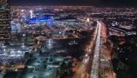 夜晚的大都市高清视频