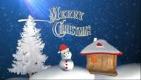 圣诞节平安夜高清素材