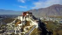 航拍西藏拉萨的布达拉宫 好宏伟好壮观! \- 情倾阁
