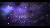 唯美粒子星空背景素材