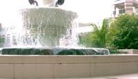 公众场所的喷泉