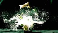 香槟酒瓶啤酒瓶爆炸