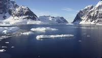 18航拍南极冰雪视频