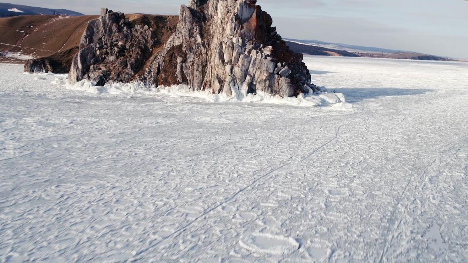 贝加尔湖2 纪录片 冰天雪地 湖面冻结  自然风光 内陆湖 动物  人文