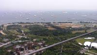 2超长实拍新加坡的美丽城市风景