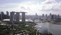 11新加坡现代化都市白天夜晚