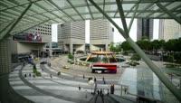 16高清4K演示航拍新加坡都市一天