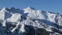雪山 高原 航拍 戈壁行车 天空云彩
