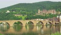 古老建筑精髓夸将拱桥延时实拍