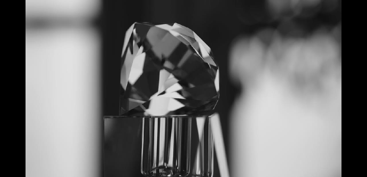 BS 001 BS 01 黑白唯美钻石特写素材