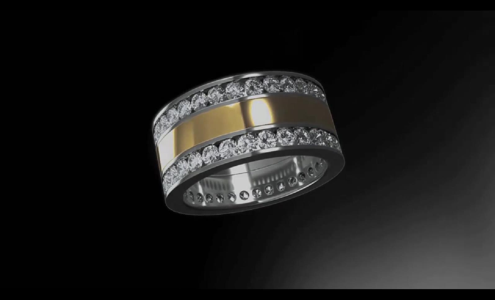 BS 023 BS 21 钻戒展示 珠宝工艺 珠宝设计 珠宝展示_5