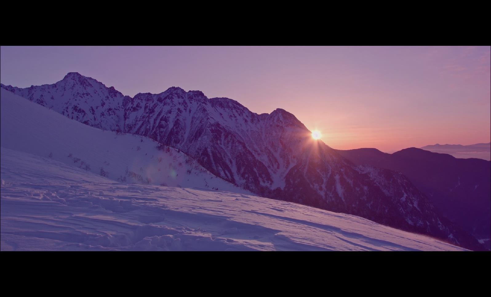 BS 012 雪山 雪景 上山