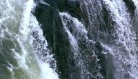 慢镜头 水流 瀑布