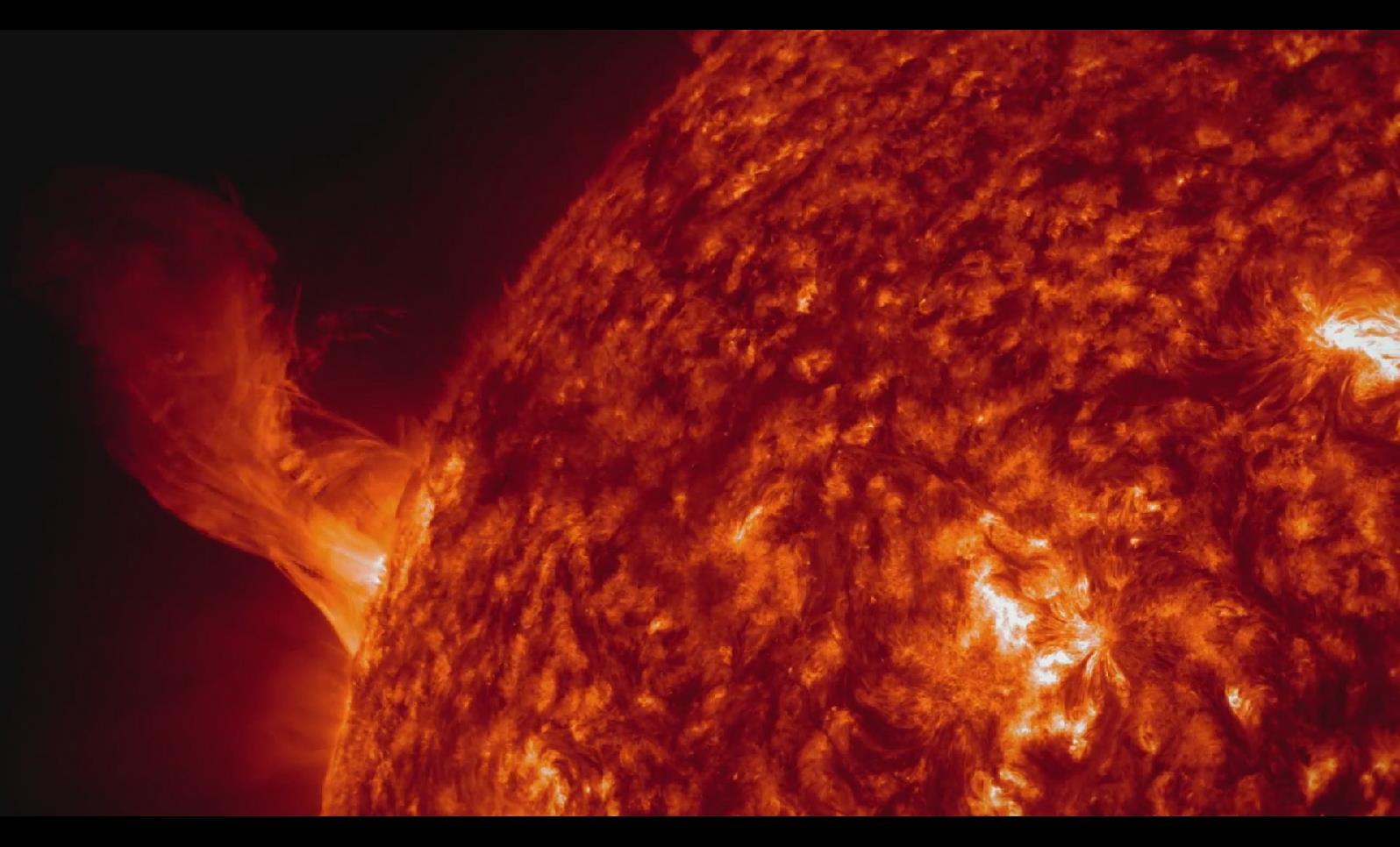 BS 076 太阳炽热太阳逼真视频