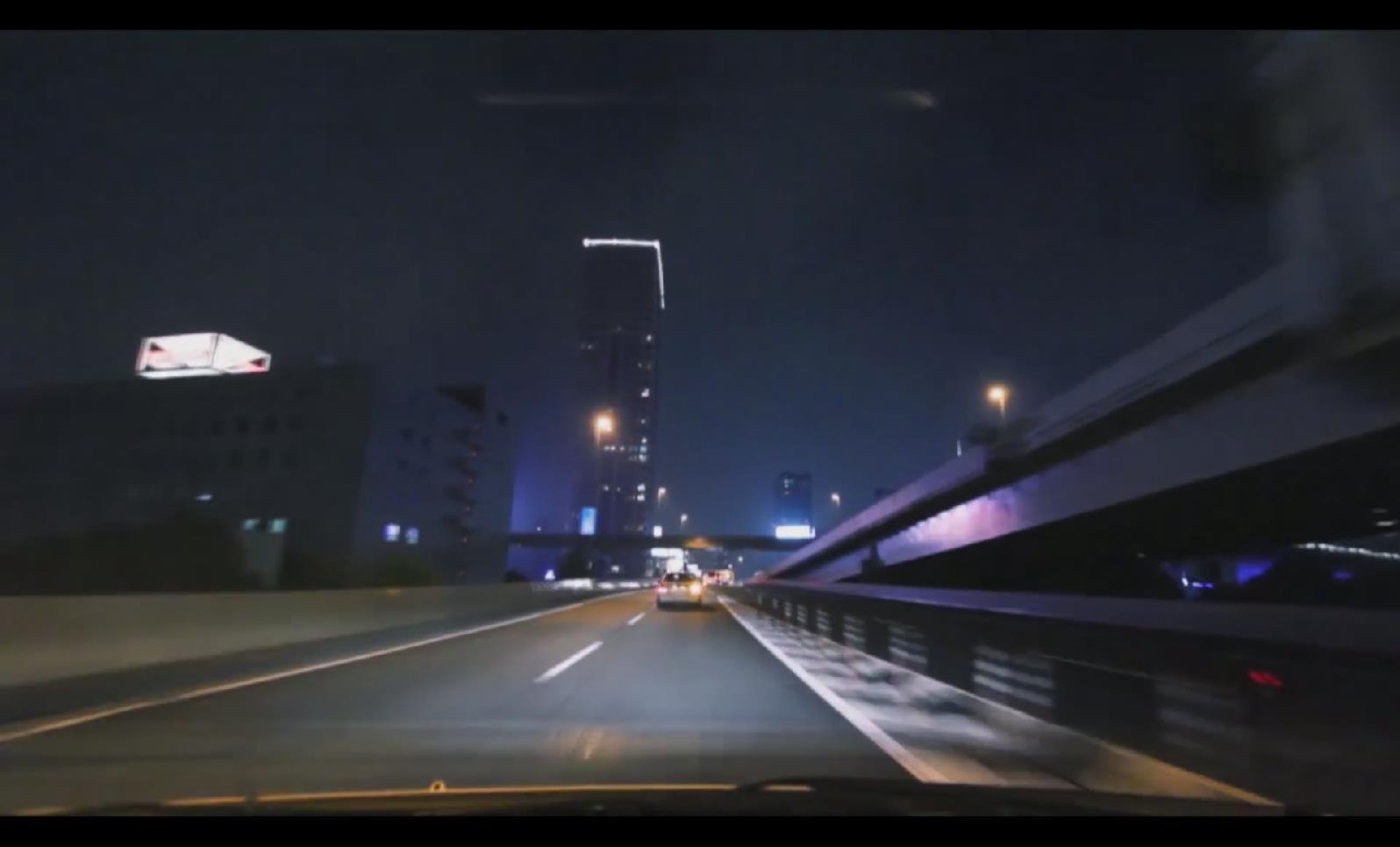 CS 05 驾车夜晚隧道开车穿梭