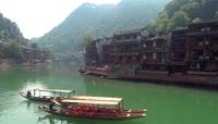 中国历史文化名城凤凰古城旅游景点建筑特点浓浓城镇2