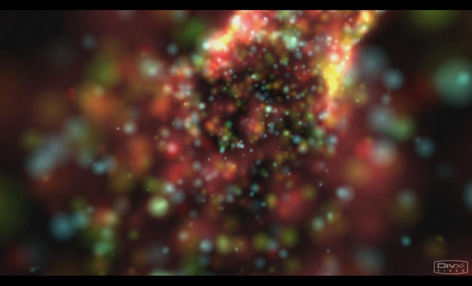 VJ 057 花纹五彩缤纷梦幻流光视频背景素材