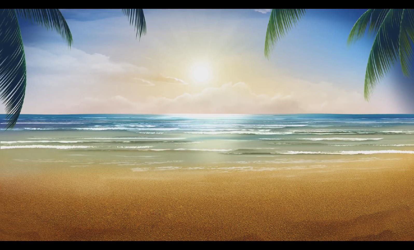 VJ 006 阳光沙滩背景