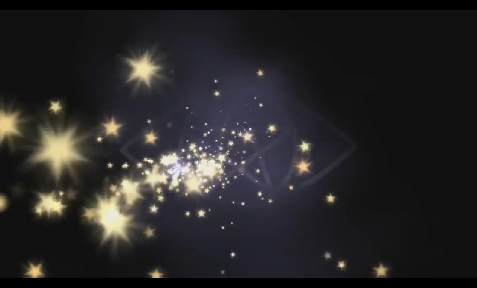 VJ 005 星星梦幻流光视频背景素材