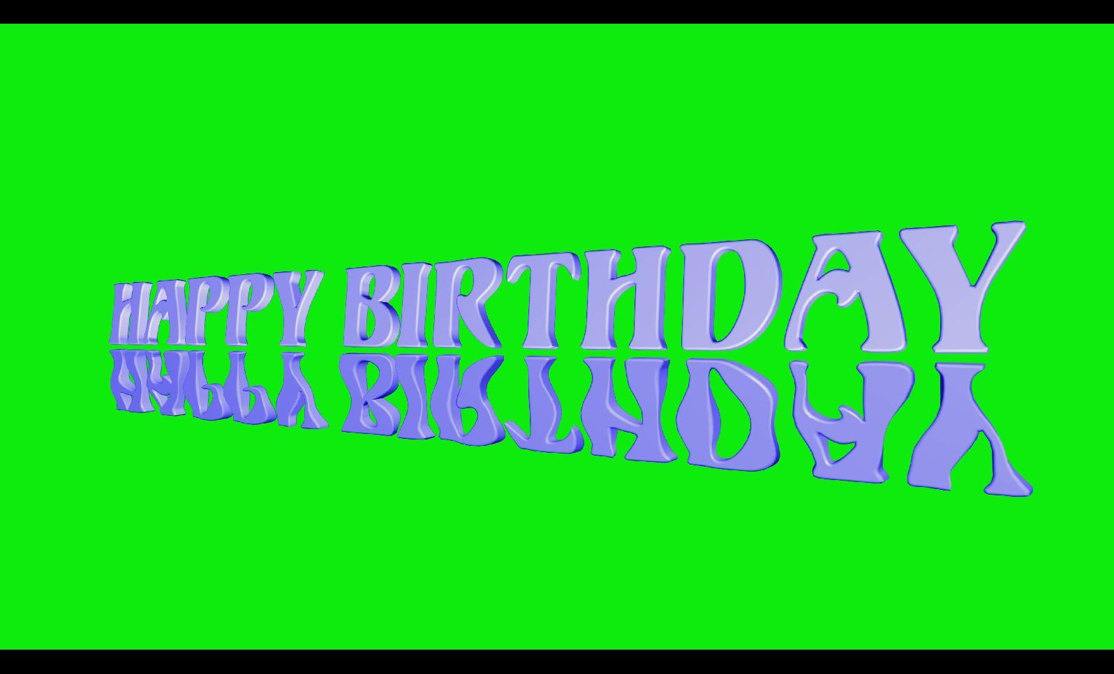 VJ 073 生日视频