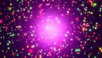 VJ 127 动态粒子光斑视频背景素材