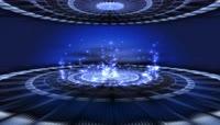 VJ 142 动态粒子光斑视频背景素材